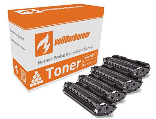 Preisvergleich Produktbild vollDerBurner 4x XL Toner für Samsung MLT-D116L/ELS 4*3000 Seiten MLT-D116S MLTD116S MLT-D116L MLTD116L M2625 M2825