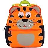 Mochila para niños, Animal Mochila Escolar TEAMEN® Toddler Kids Mochila Escolar para niños pequeños, Mochila para 2-5 años (T