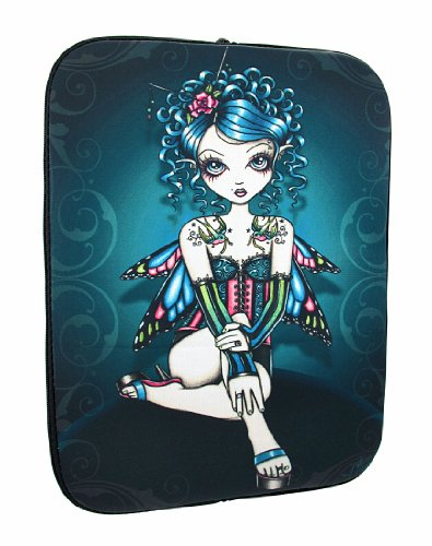 Juwel Ton Tattooed 'Gracie' Gothic Fairy Neopren Tablet - Tattoos Juwelen