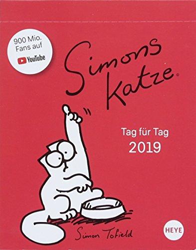 Simons Katze Tagesabreißkalender - Kalender 2019 por Simon Tofield