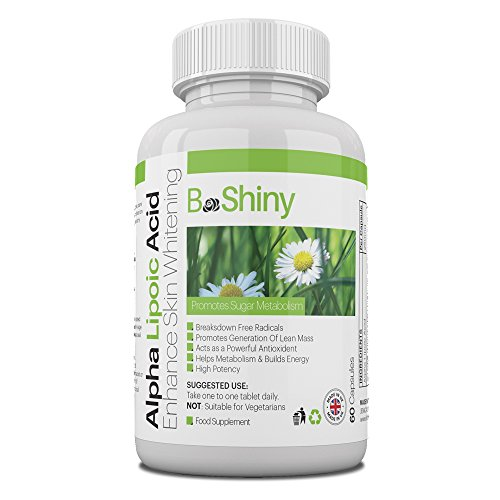 Alpha lipoic acid for skin whitening and fat loss: the powerful antioxidant ALA promotes sugar metabolism and the generation of lean mass generates energy