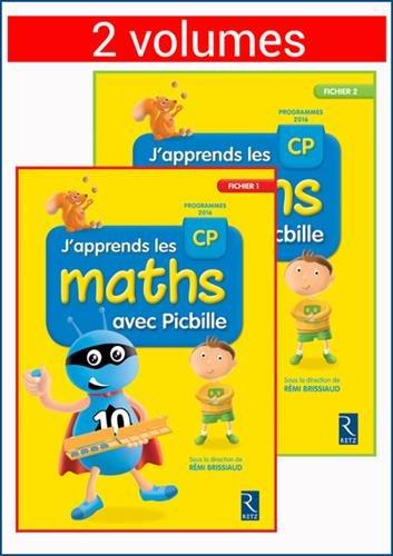 J'apprends les maths avec Picbille CP - 2 volumes par Florence Suire