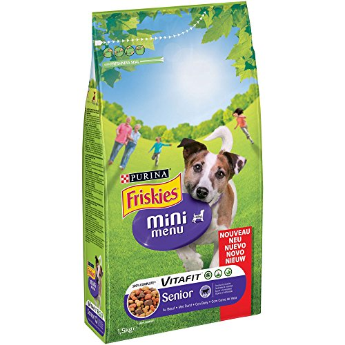 Purina Friskies Vitafit Mini Menu Pienso Perro Senior