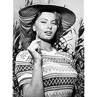 Photo Loren Sophia Woman Of The River 01 A4 10x8 Poster Print