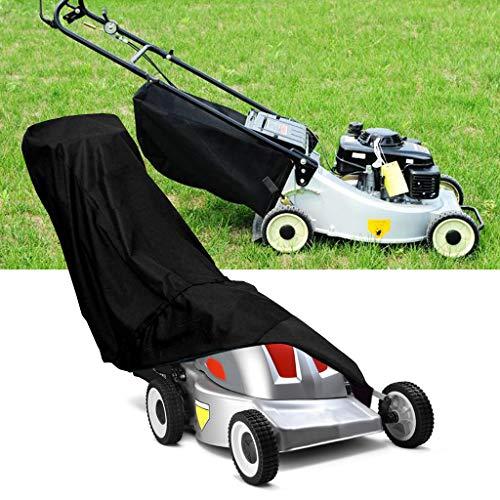 WuLi77 Rasenmäherabdeckung, wasserdicht, staubdicht, wetterfest, für Innen- und Außenbereich, UV-Schutz - Abdeckung Dehnbare Koffer