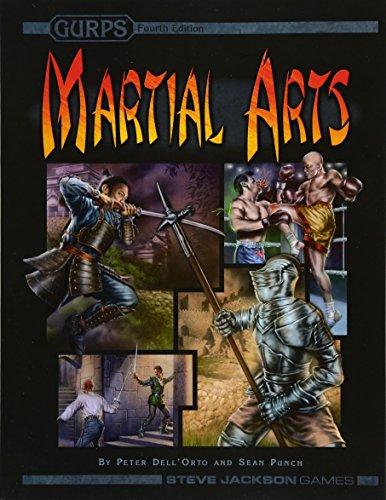 Gurps Martial Arts por Peter Dell'orto