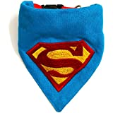 That Dog In Tuxedo Man Of Steel Dog Embroidered Bandana/Scarf With Adjustable Dog Collar (M-L)