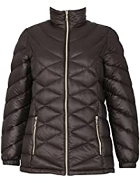 David Barry Women's Padded Down Hooded Jacket