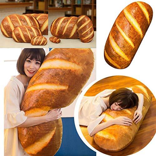fasetry 3d hd stampa i giocattoli della peluche del cuscino di forma del pane del burro per la decorazione domestica cuscini standard