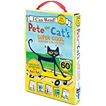 Pete the Cat's Super Cool Reading Collection: 5 I Can Read Favorites!: Too Cool for School/Play Ball!/Pete at the Beach/Pete's Big Lunch/A Pet for Pete (My First I Can Read)