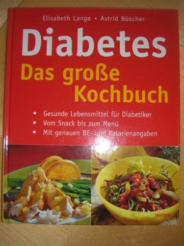 Diabetes - Das grosse Kochbuch (Livre en allemand) par Elisabeth Lange