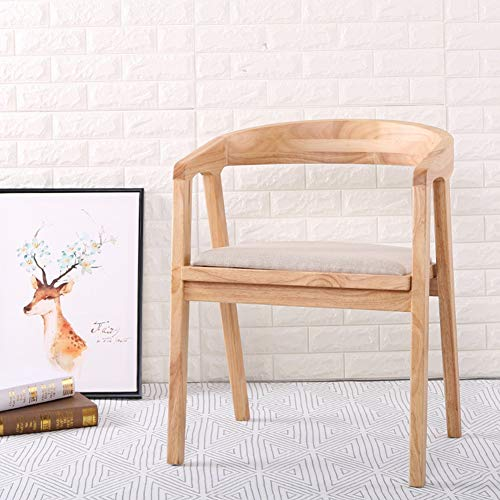 L.BAN Holzstühle Möbel, Weinlese rustikal Handgemacht Traditionell Chunky Rustikal Hölzern Garten Stuhl Möbel