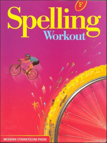Spelling Workout Homeschool Bundle Level F Copyright 2002 [With Parent Guide and Teacher's Guide]
