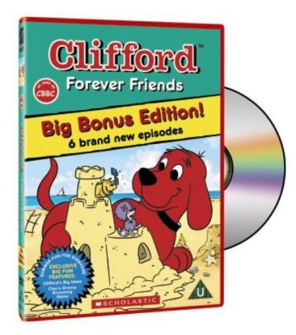 clifford-forever-friends-dvd