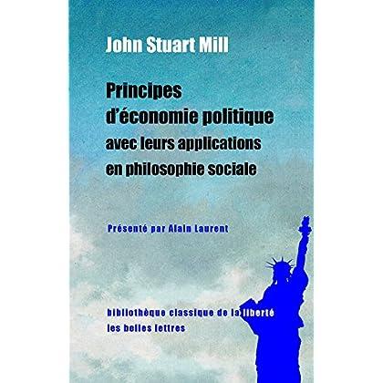 Principes d'économie politique avec leurs applications en philosophie sociale: Extraits des livres IV et V