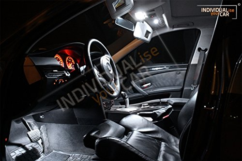 Innenraumbeleuchtung SET für 5er E61 Touring - Pure-White Panoramadach Nein