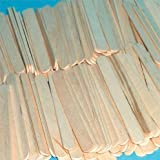 Giant Lollipop Sticks Natural Wood (Pack of 100) by Choice DIY
