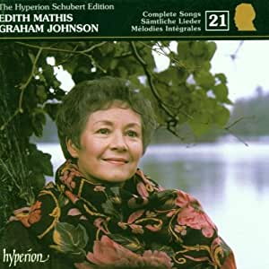 The Hyperion Schubert Edition 21 / Edith Mathis, Graham Johnson by Hyperion UK (2001-04-02)