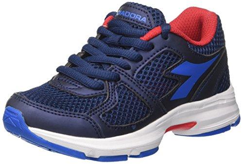 Diadora shape 8 jr, scarpe da corsa bambino, blu (estate directoire blue), 33 eu