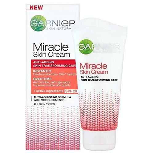 garnier sleeping cream Garnier Miracle Skin Creme Anti-Age Gesichtscreme, 1er Pack (1 x 50 ml)