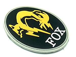 Patch Velcro PVC Motif FOX Foxhound Metal Gear Solid Pour Paintball