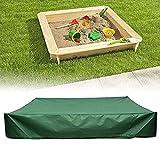 Sandbox Cover, Square Sandbox Protector Canopy Coulisse Pool Pool Cover per Giardino Piccolo Bagno, Sabbia E Giocattoli Protection, Parasole, Impermeabile, Antipolvere, Verde, Altre Dimensioni