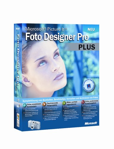Microsoft Picture It! Foto Designer Pro Plus 9.0