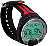 Cressi Unisex's Leonardo Dive Computer, Black/Red, Medium