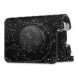Fintie Schutzhülle für Fujifilm instax Wide 300 Sofortbildkamera - Premium Kunstleder Tasche Reise Kameratasche Hülle Abdeckung mit Abnehmbaren Riemen, Sternbild