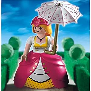 Playmobil - 4639 - La Maison Traditionnelle - Dame compagnie / Ombrelle