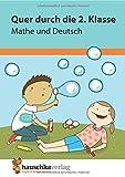 Produkt-Bild: Quer durch die 2. Klasse, Mathe und Deutsch - Übungsblock (Lernspaß Übungsblöcke, Band 662)