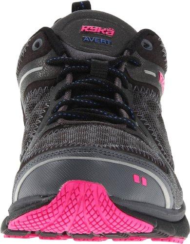Ryka Avert Damen Maschenweite Laufschuh Black/Dark Grey/Dark Pink