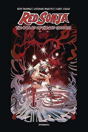Preisvergleich Produktbild Red Sonja: The Ballad of the Red Goddess HC