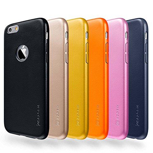 Azorm Handyhülle für iPhone 6 / 6s Plus, Hybrid Edition Smartphone Hülle mit Displayschutz und Mikrofasertuch, Bumper Schutzhülle Anti-Rutsch und Kratzfest, Silikon Rückseite Transparent - Silber Classic Edition - Rosa