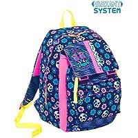 4d7dbf547b Zaino scuola SEVEN - MEXI GIRL - Blu - estensibile - VARIANT SYSTEM - 32 LT
