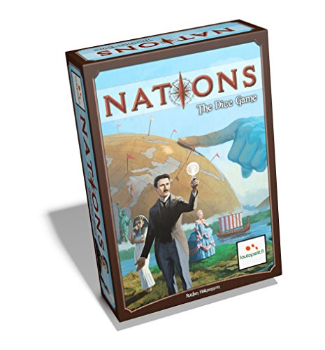 Lautapelit LAU00041 - Nations The Dice Game, Familien Standardspiele (Das Schicksal Der Nationen)
