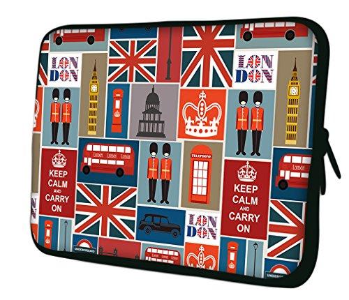 """Ektor 13"""" Zoll, Notebooktasche, Laptoptasche, Tasche, Neopren Schutzhülle für Laptop."""