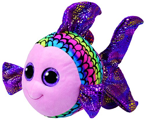 Beanie Boo Fish - Flippy - Multicoloured - 24cm 9""