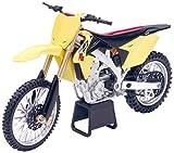New Ray 57643 - Véhicule Miniature - Modèle À L'échelle - Moto Cross Suzuki Rmz 450 - Echelle 1/12