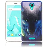 thematys Wiko Jerry 2 Wolf Silicone Protective Case Soft