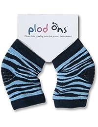 Plod Ons Knieschoner-Socken für Kleinkinder, Zebrastreifen