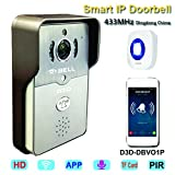 WiFi Smart Wireless Video Doorbell with ...