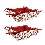 ELAN Rose Print Fruit Basket 20 X 20 X 7...