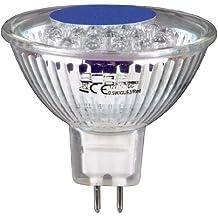 Xavax 112051 - Lámpara LED (Azul, 12V, 1 Hz, 4,8 cm, 30g)