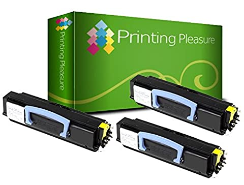 3 Compatible Toner Cartridges for Dell 1720 1720N 1720DN - Black, High Yield