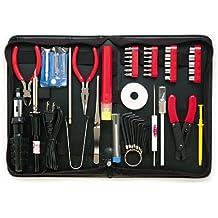 Belkin F8E062u - Kit de herramientas de 55 piezas con soldador