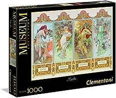 Clementoni - Museum Collection Puzzle, 1000 Pezzi