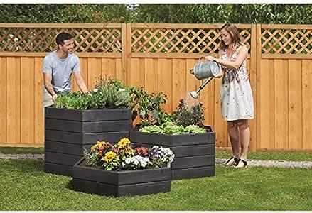Garantia 645100 Ergo Hochbeet System O110 Cm X H25 Cm Amazon De Garten