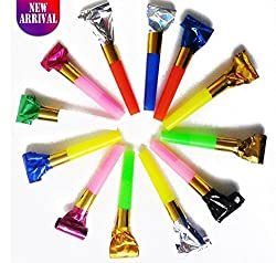72 Party Blowers With Noise / DJ Blowers / Squawkers / Party Supplies / Party Favors / Party Blowers