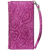 J Cover A5 I Bali Leather Wallet Universal Pouch Cover Case For Asus Zenfone 4 Pro Exotic PNK